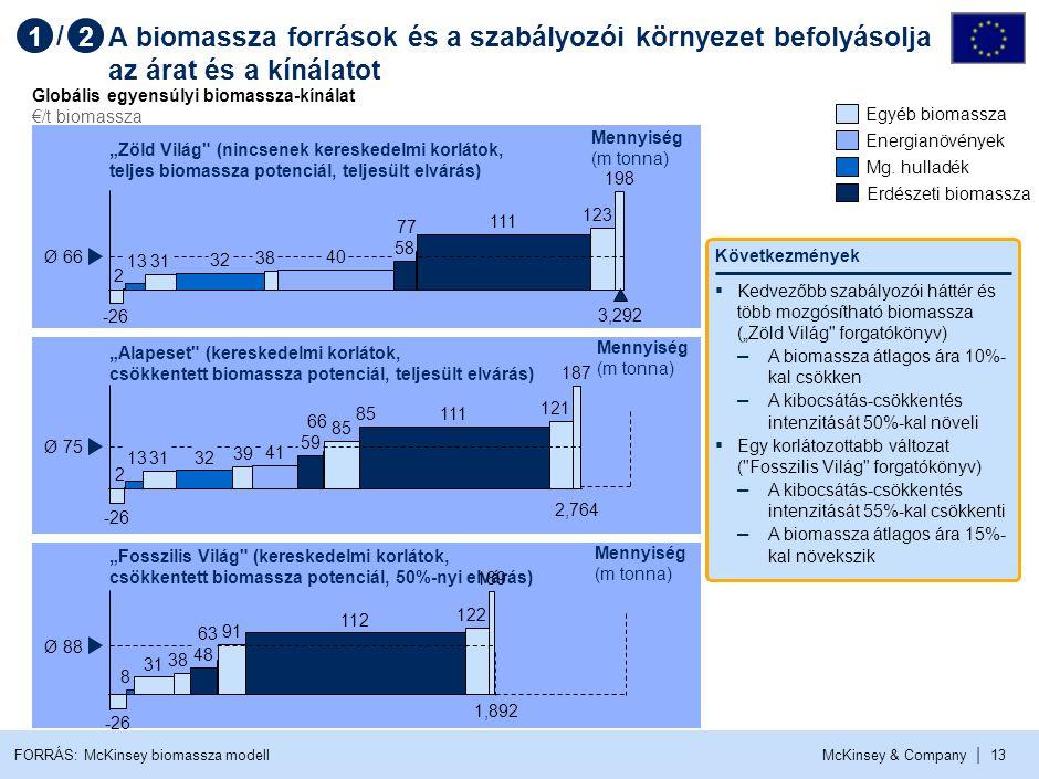 Jelenleg nincs konzisztens szabályozói támogatása a bioenergiának