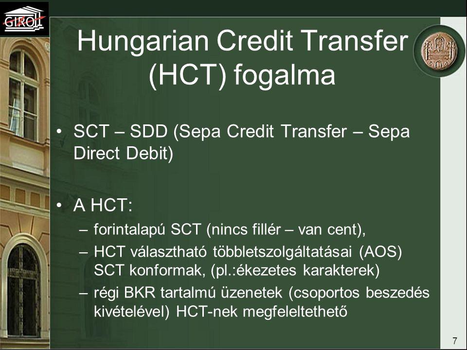 Hungarian Credit Transfer (HCT) fogalma
