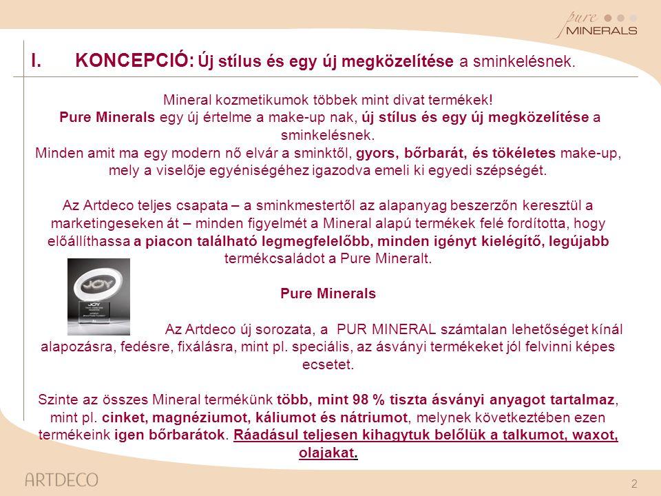 Mineral kozmetikumok többek mint divat termékek!