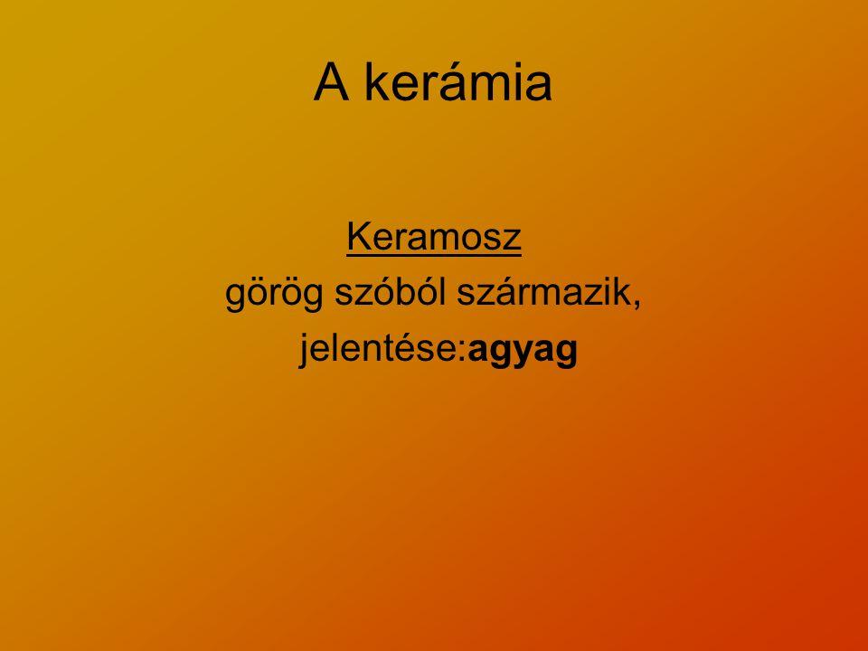 görög szóból származik,