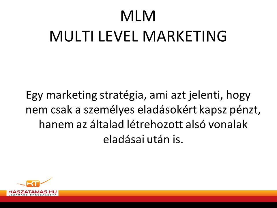 MLM MULTI LEVEL MARKETING