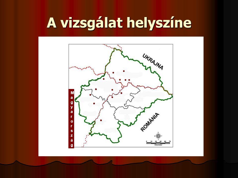 ONK 2008 A vizsgálat helyszíne Magyarország