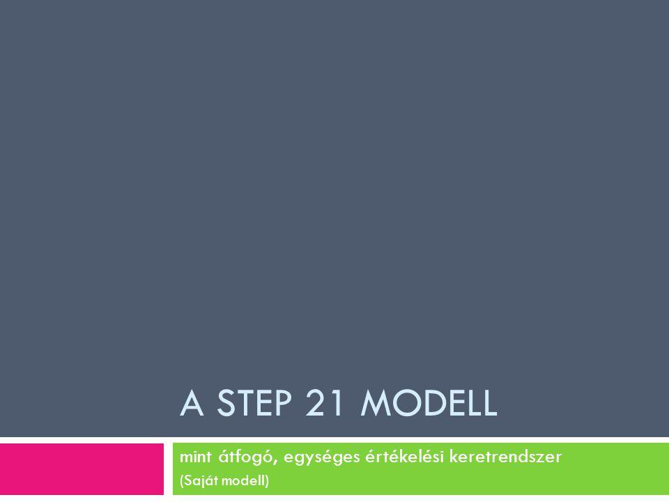 mint átfogó, egységes értékelési keretrendszer (Saját modell)
