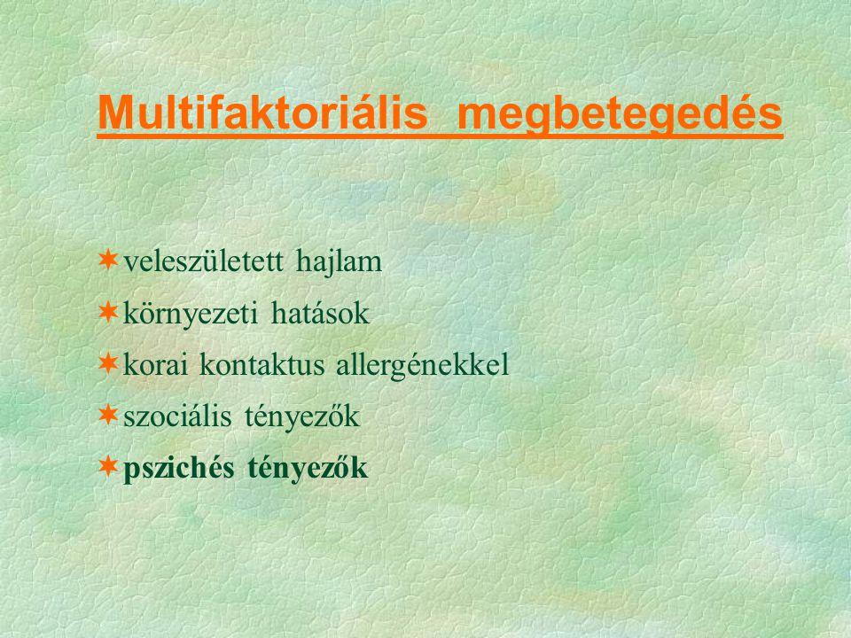 Multifaktoriális megbetegedés