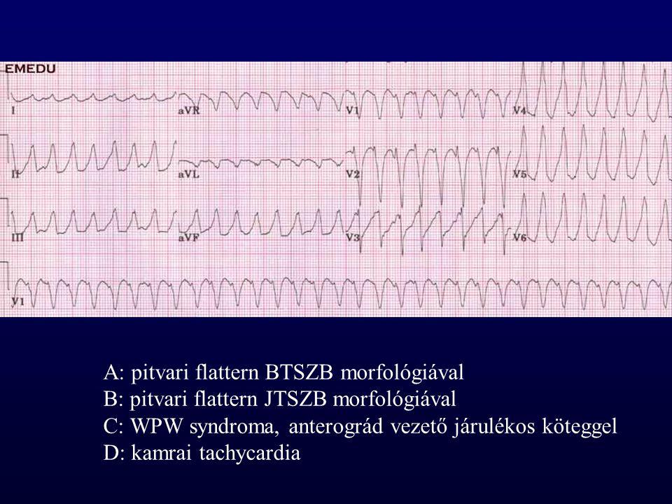 A: pitvari flattern BTSZB morfológiával