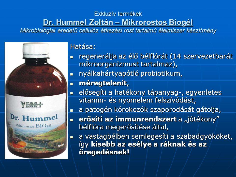 nyálkahártyapótló probiotikum, méregtelenít,