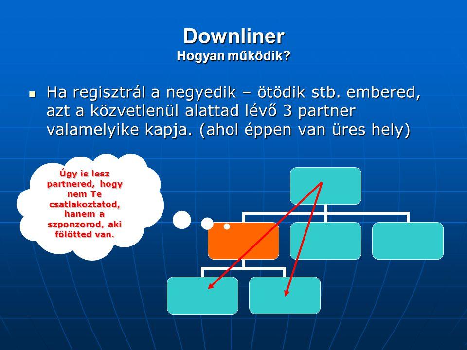 Downliner Hogyan működik