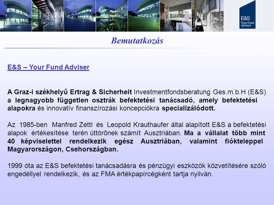 Bemutatkozás E&S – Your Fund Adviser
