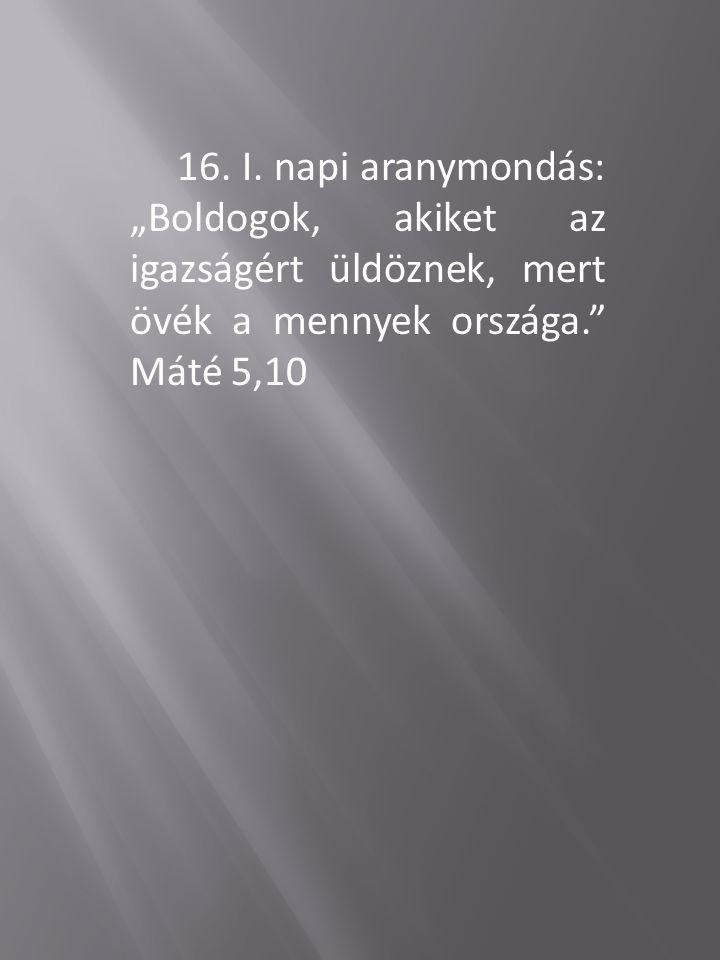 16. I.