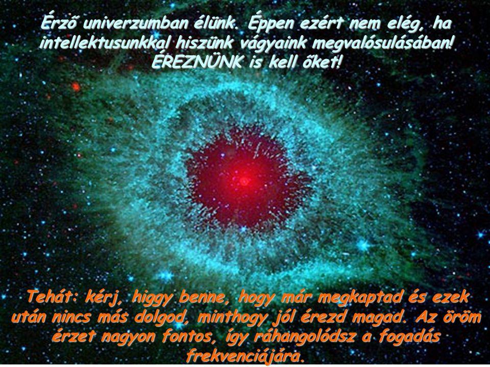 Érző univerzumban élünk