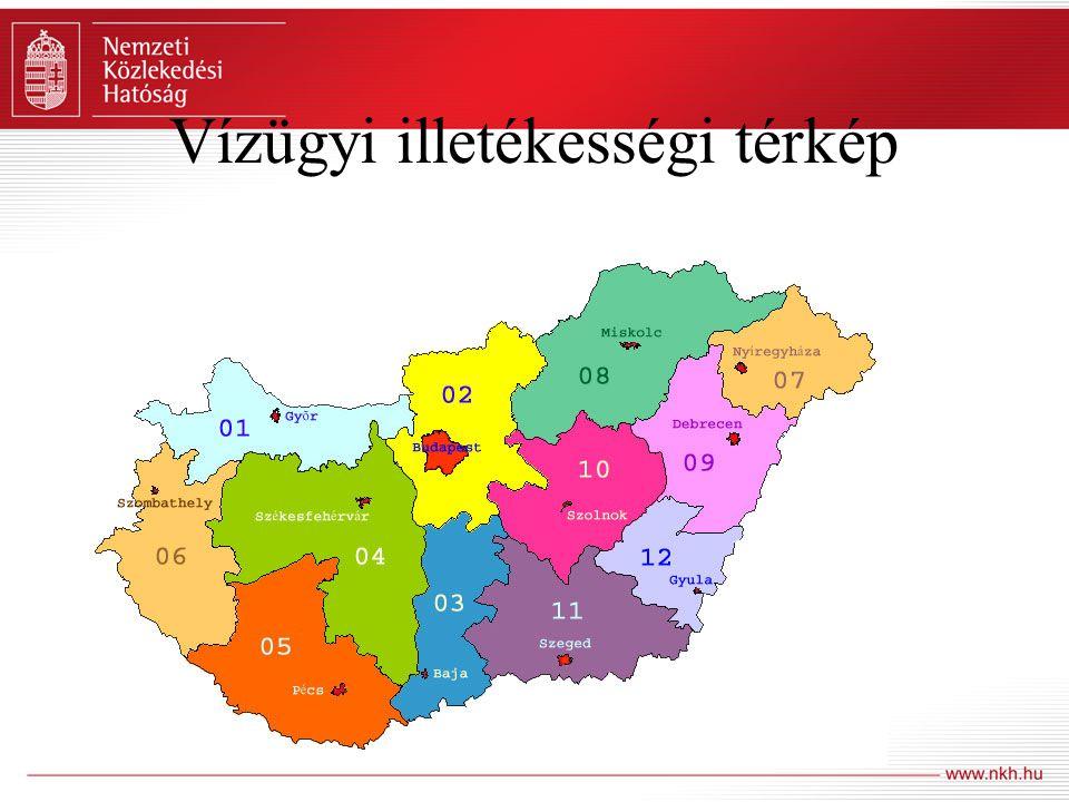 Vízügyi illetékességi térkép