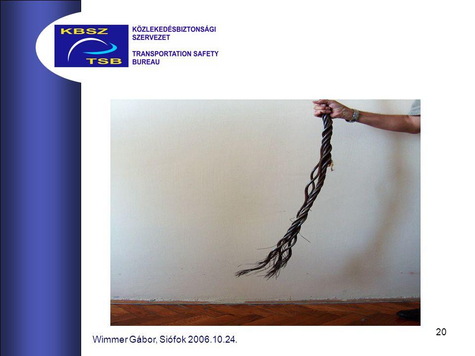 Wimmer Gábor, Siófok 2006.10.24.
