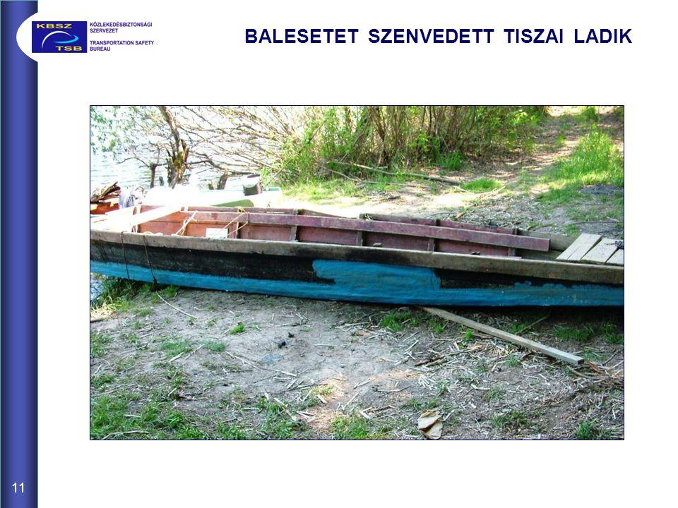 BALESETET SZENVEDETT TISZAI LADIK