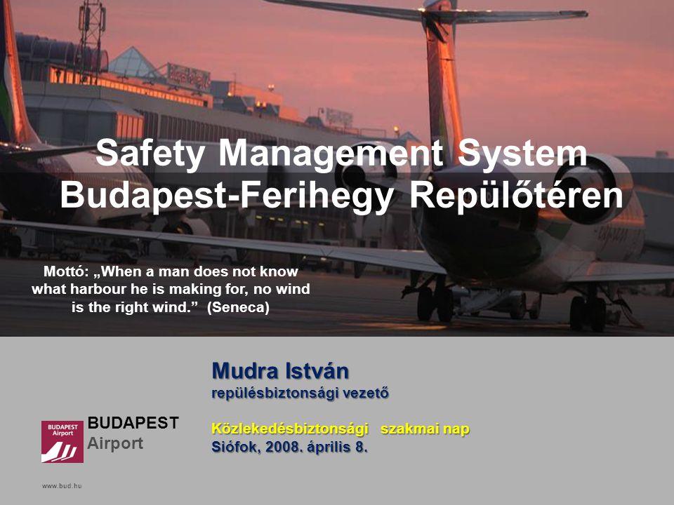 Safety Management System Budapest-Ferihegy Repülőtéren