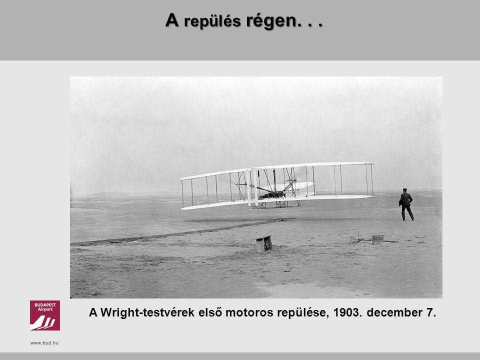 A Wright-testvérek első motoros repülése, 1903. december 7.