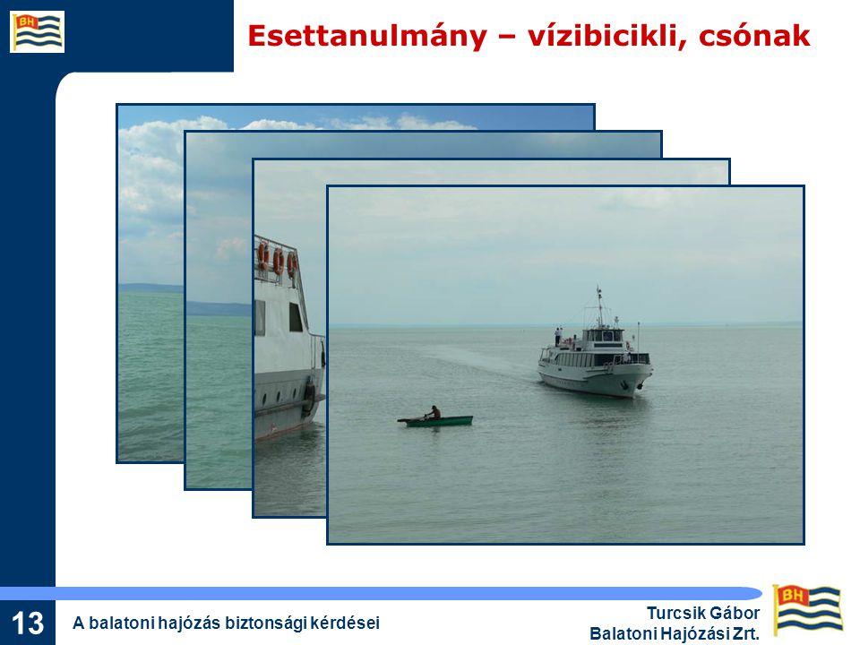Esettanulmány – vízibicikli, csónak