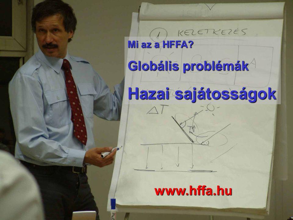Mi az a HFFA Globális problémák Hazai sajátosságok www.hffa.hu