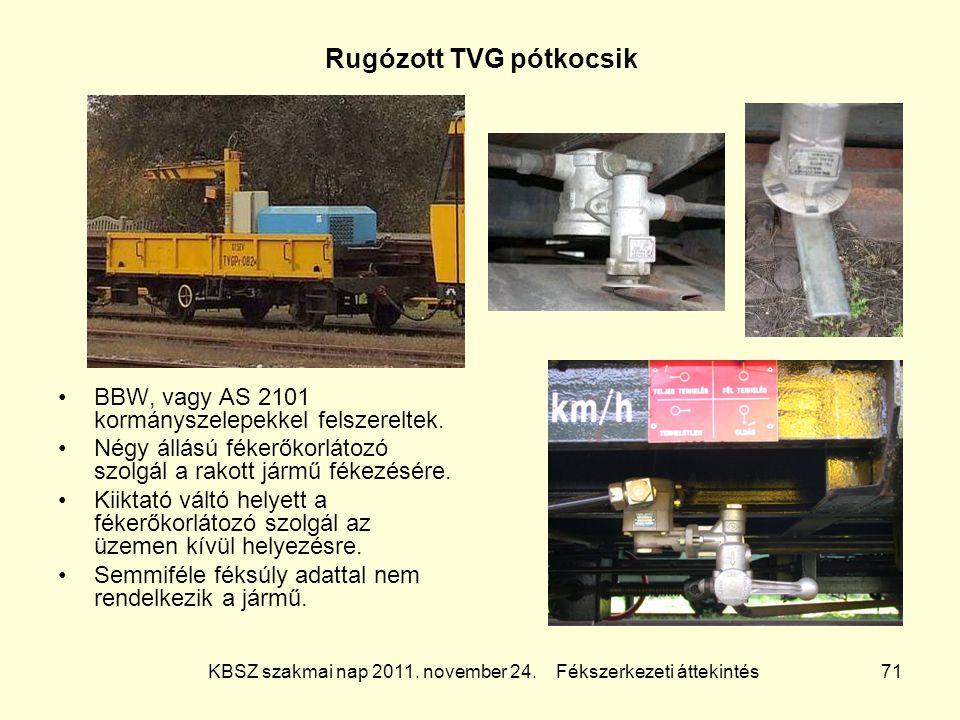 Rugózott TVG pótkocsik