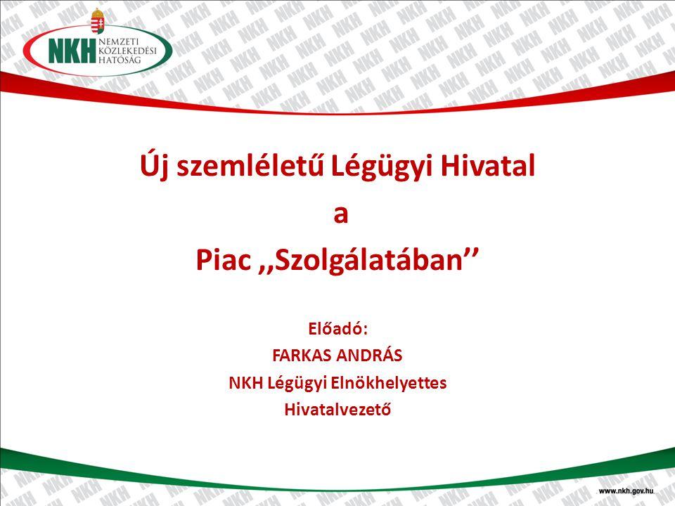 Új szemléletű Légügyi Hivatal NKH Légügyi Elnökhelyettes