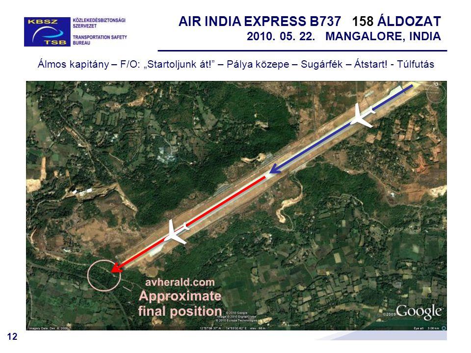 AIR INDIA EXPRESS B737 158 ÁLDOZAT 2010. 05. 22. MANGALORE, INDIA