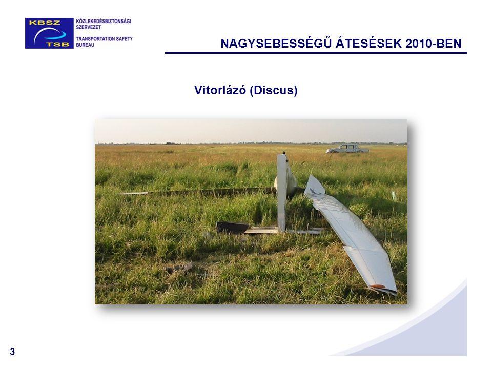 NAGYSEBESSÉGŰ ÁTESÉSEK 2010-BEN