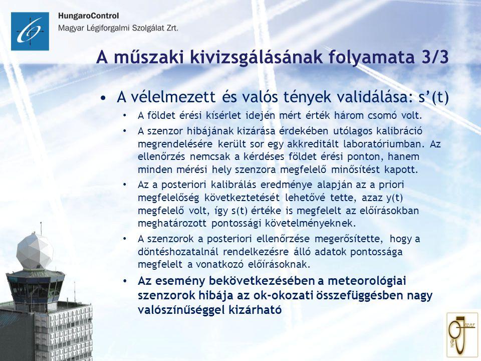 A műszaki kivizsgálásának folyamata 3/3