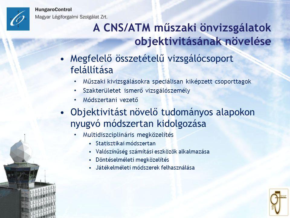 A CNS/ATM műszaki önvizsgálatok objektivitásának növelése