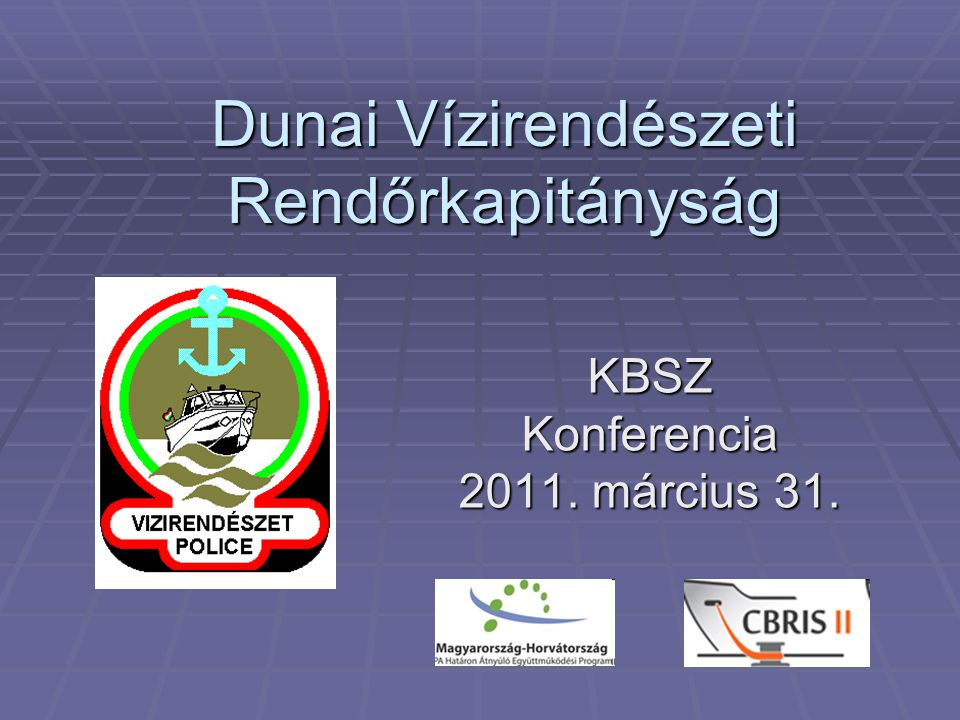 Dunai Vízirendészeti Rendőrkapitányság