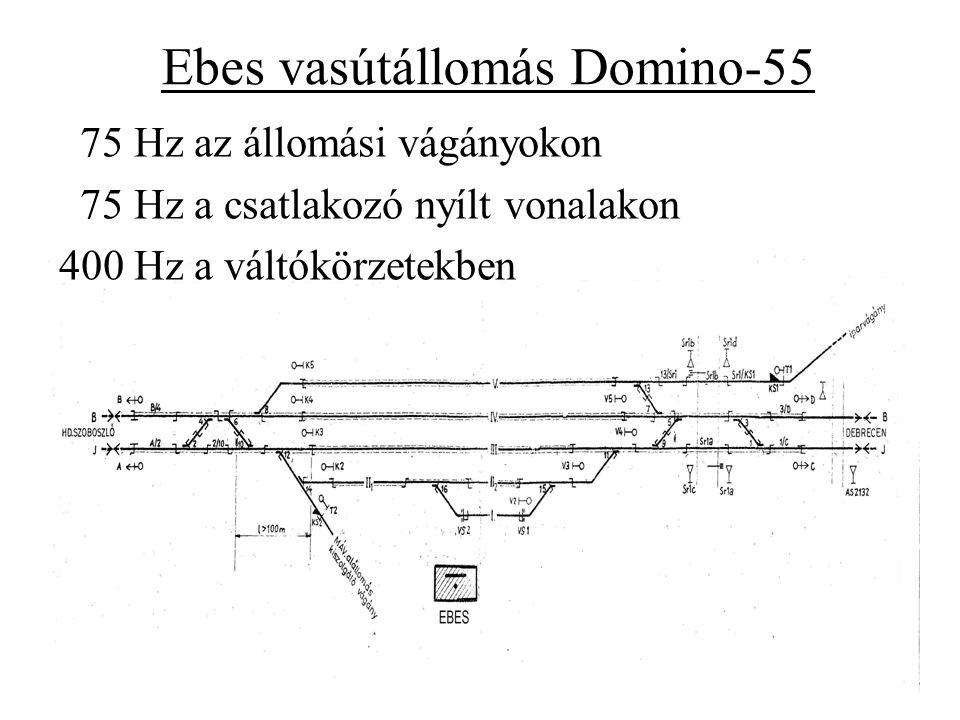 Ebes vasútállomás Domino-55
