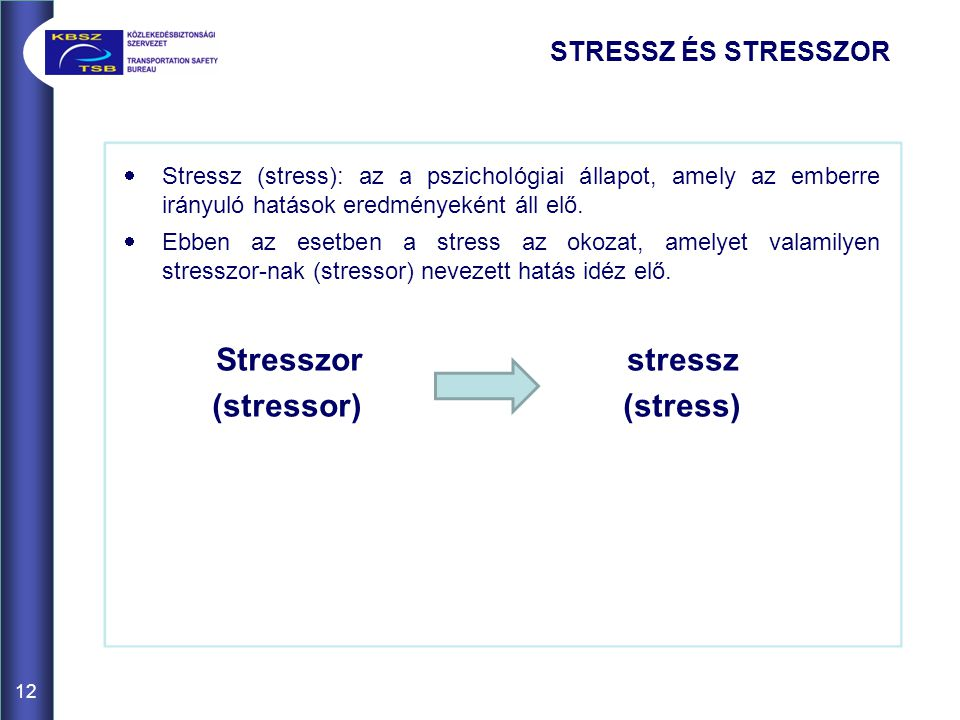 Stresszor stressz (stressor) (stress) STRESSZ ÉS STRESSZOR