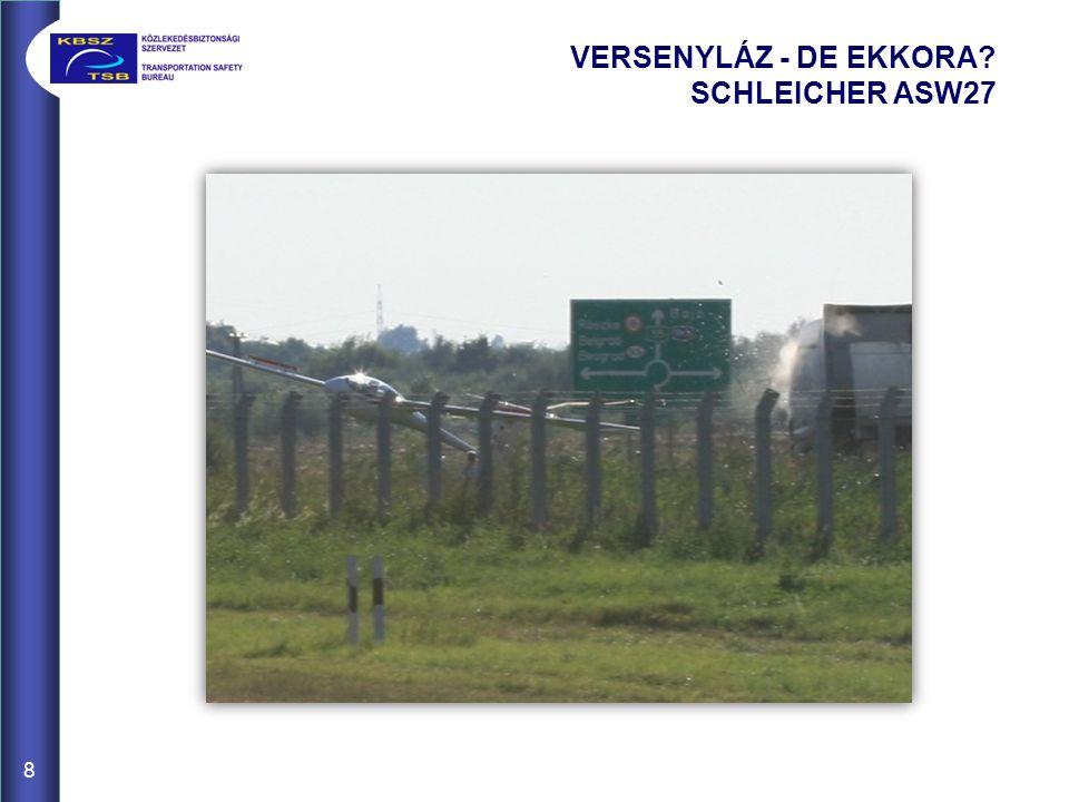 VERSENYLÁZ - DE EKKORA SCHLEICHER ASW27