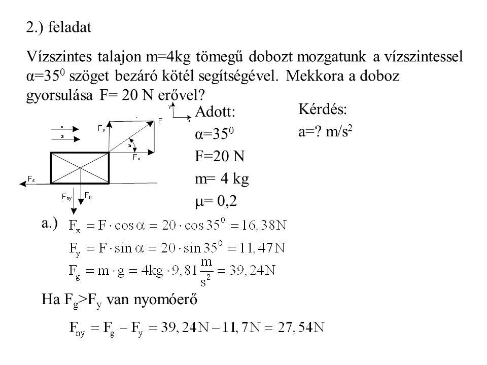 2.) feladat