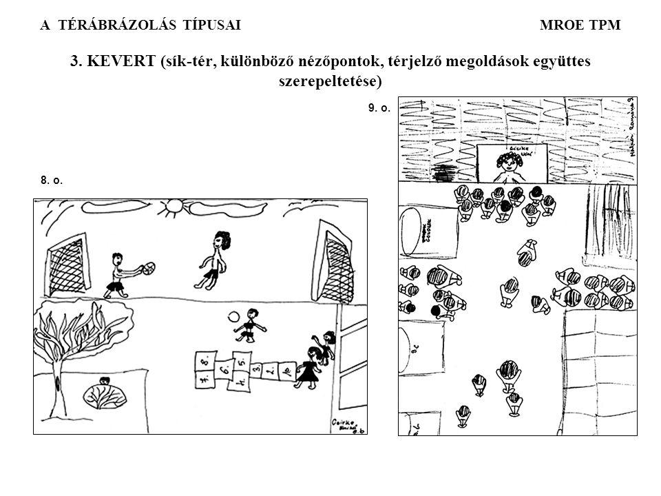 A TÉRÁBRÁZOLÁS TÍPUSAI MROE TPM 3