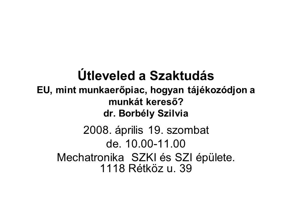 Mechatronika SZKI és SZI épülete. 1118 Rétköz u. 39