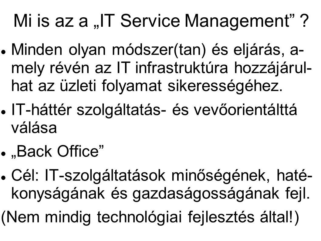 """Mi is az a """"IT Service Management"""