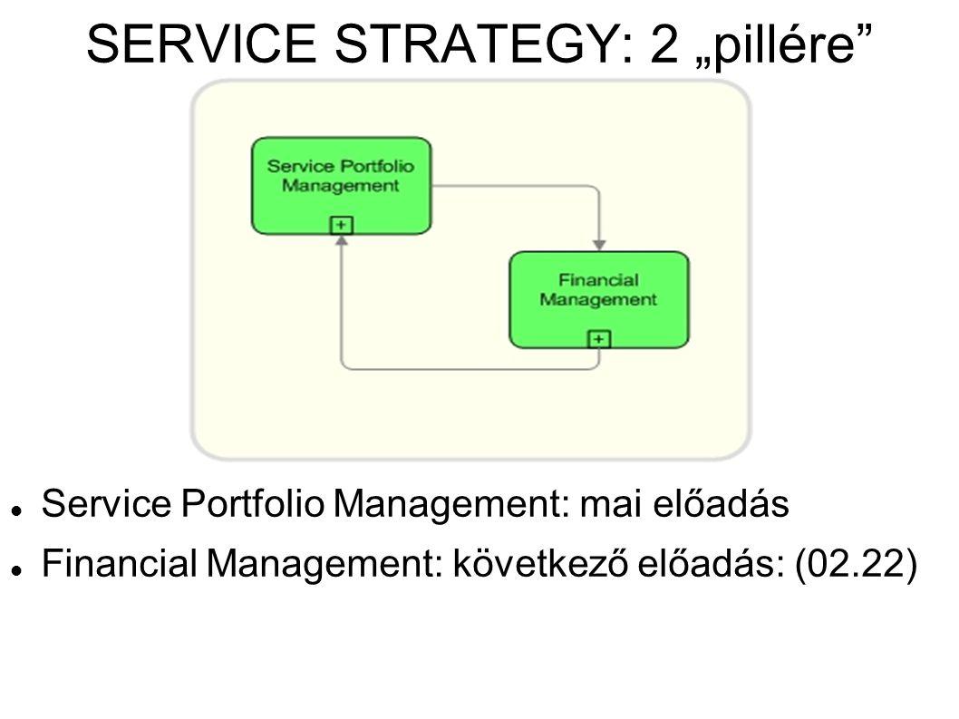 """SERVICE STRATEGY: 2 """"pillére"""
