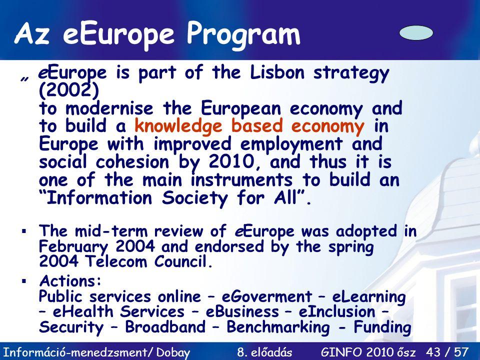 Az eEurope Program