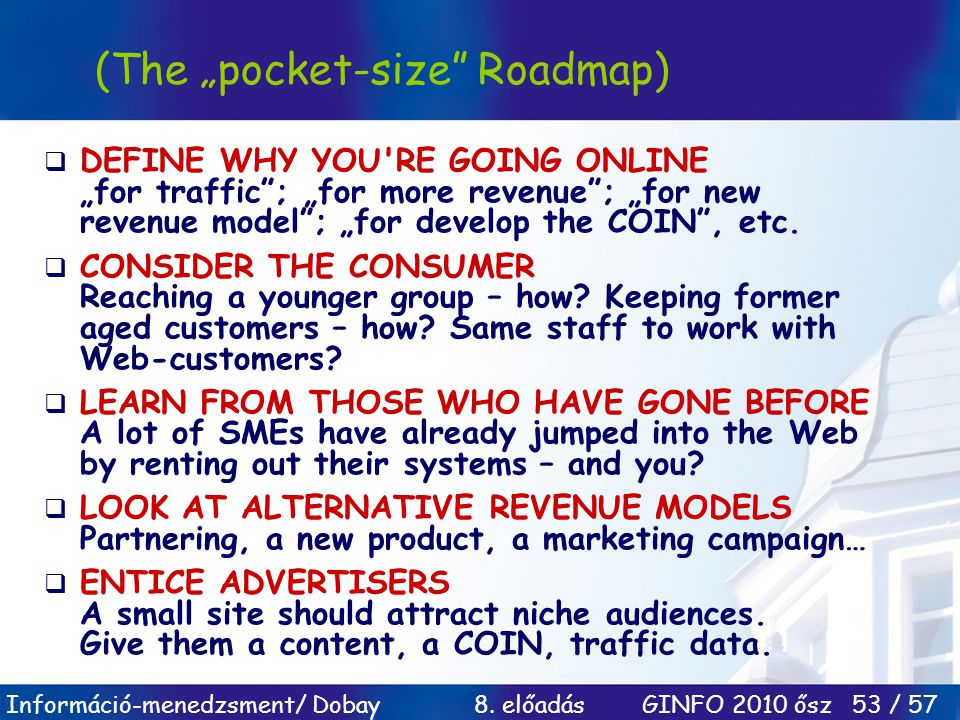 "(The ""pocket-size Roadmap)"