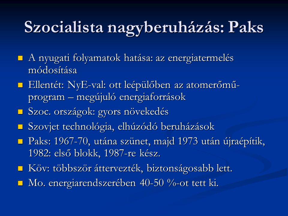 Szocialista nagyberuházás: Paks