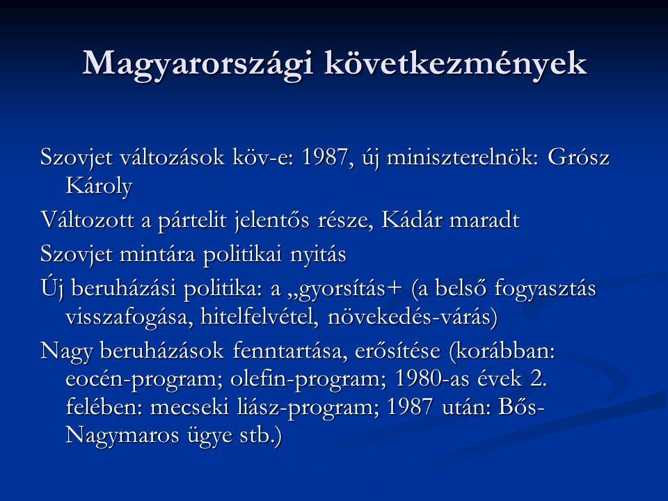 Magyarországi következmények
