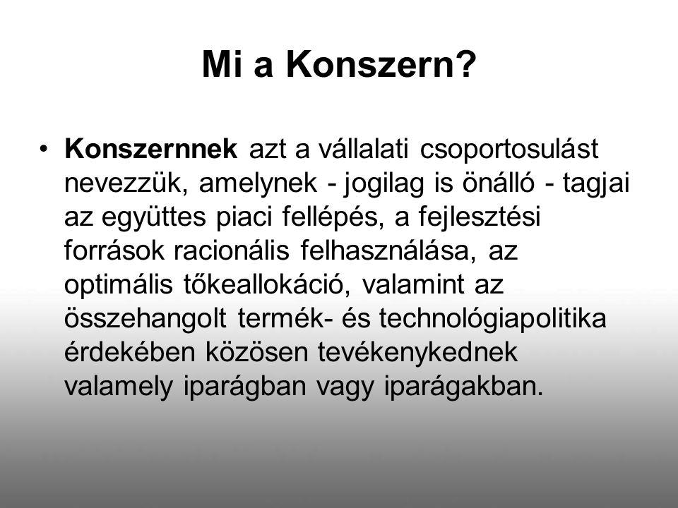 Mi a Konszern