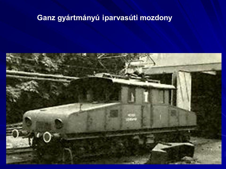 Ganz gyártmányú iparvasúti mozdony