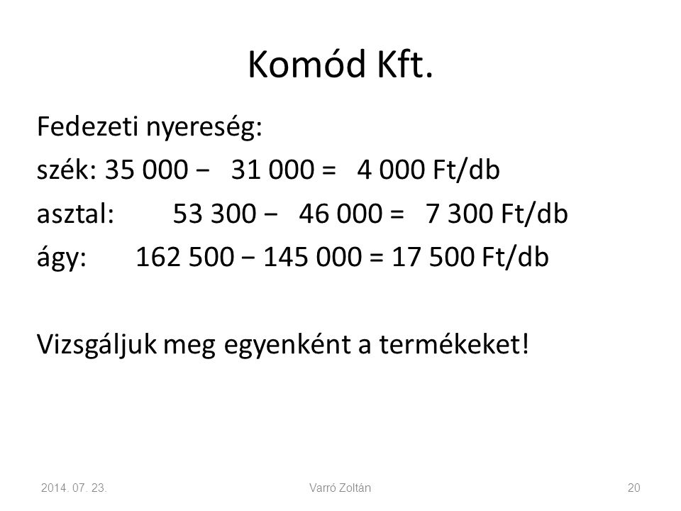 Komód Kft.