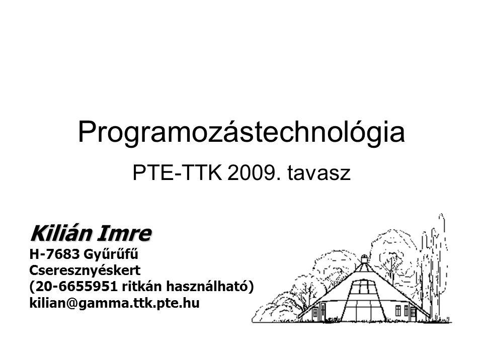 Programozástechnológia