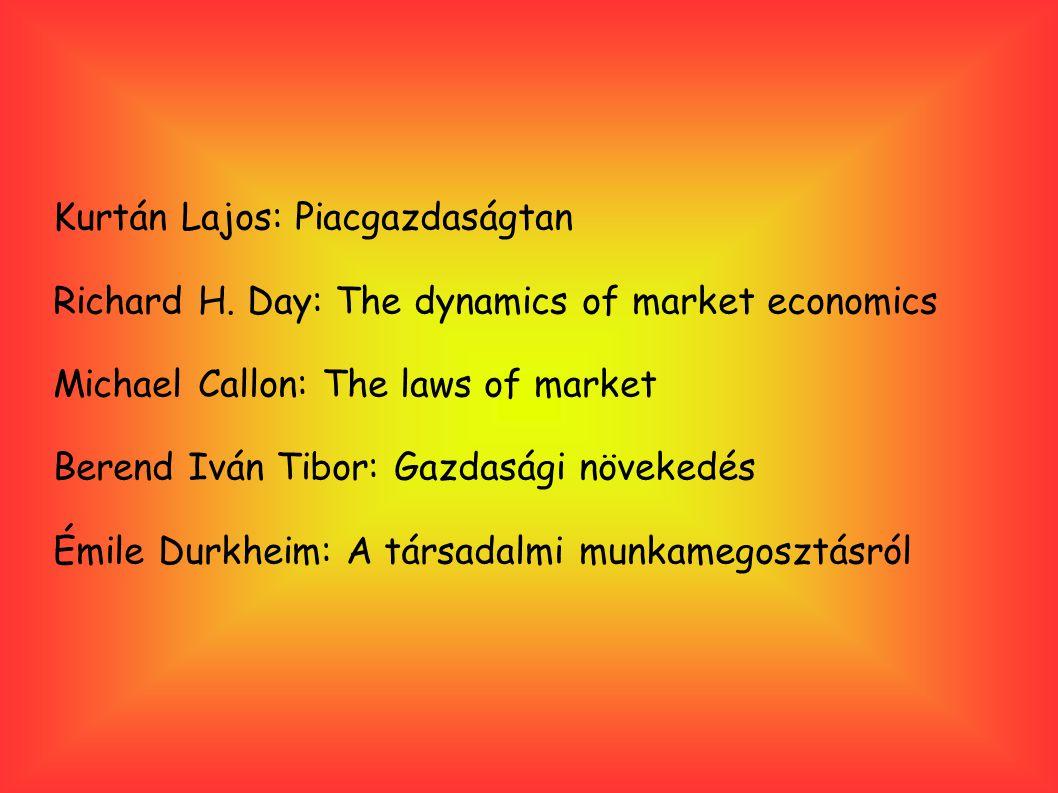 Kurtán Lajos: Piacgazdaságtan