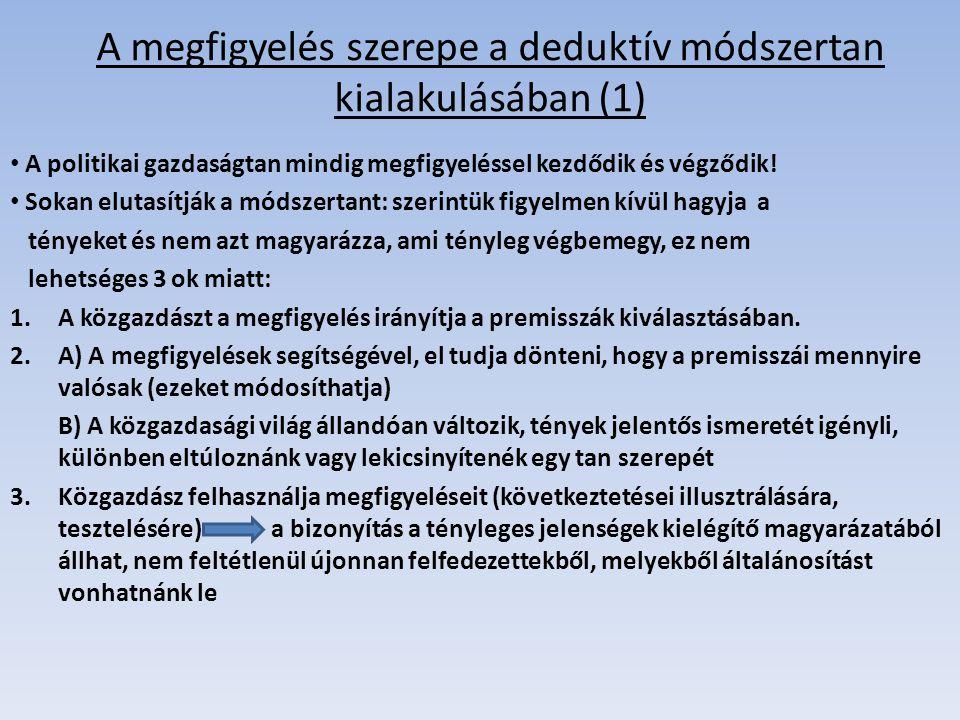A megfigyelés szerepe a deduktív módszertan kialakulásában (1)