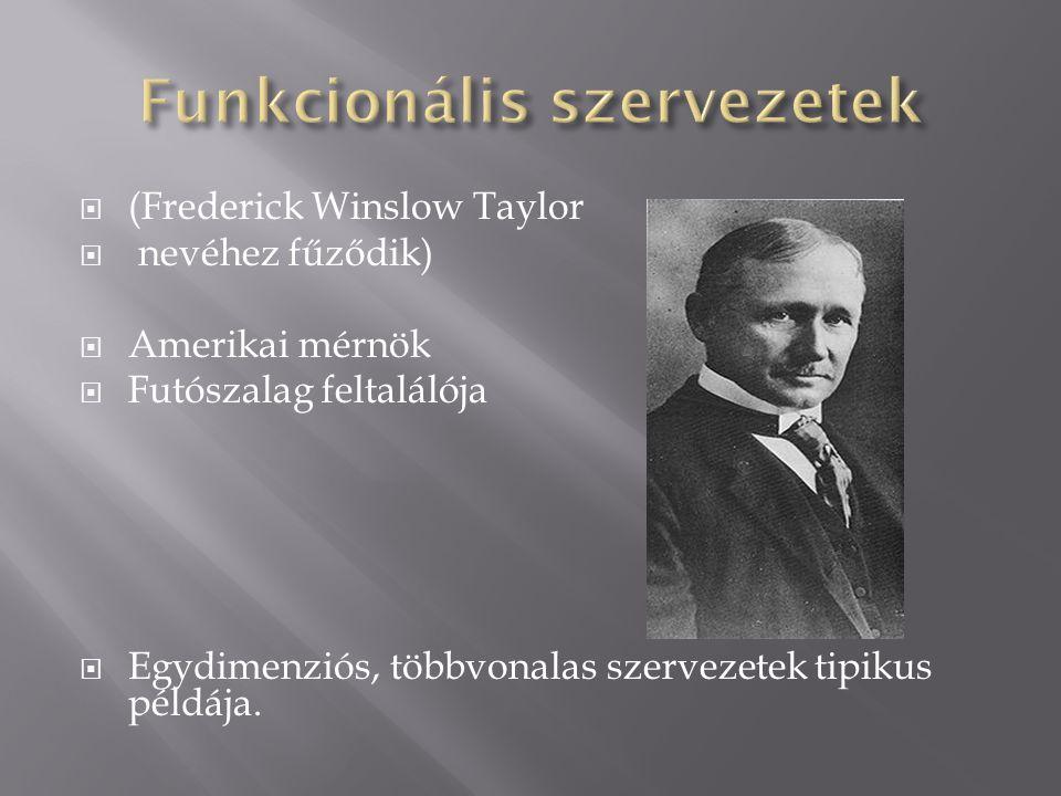 Funkcionális szervezetek