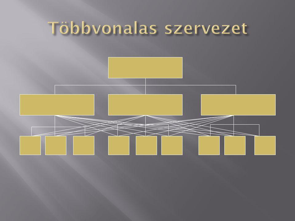 Többvonalas szervezet