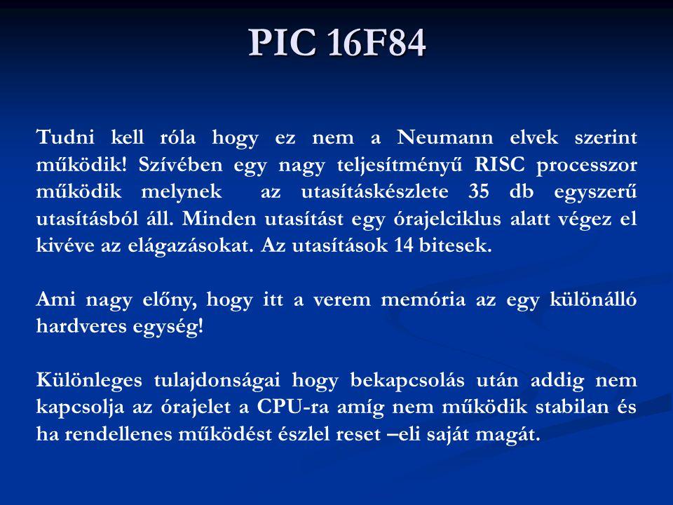 PIC 16F84