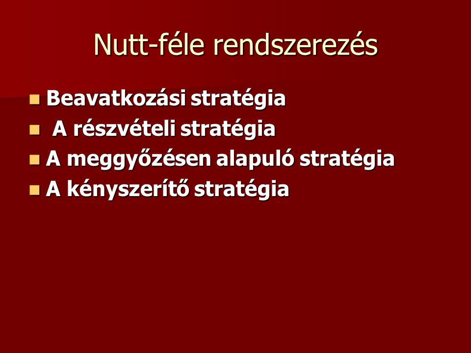 Nutt-féle rendszerezés